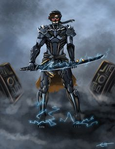 Rising Metal Master Yi by ~c-hsu-run on deviantART League Of Legends, Master Yi, Guild Wars 2, Lol, Fan Art, Metal, Wallpaper, Batman, Deviantart