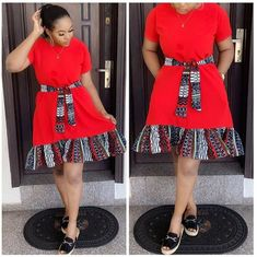 Here are 35 Plain & Pattern Ankara styles you should try out this year. Pictures Of The Latest Plain & Pattern Ankara Gown Styles Latest African Styles, Unique Ankara Styles, Ankara Dress Styles, Ankara Gowns, African Fashion Ankara, Latest African Fashion Dresses, African Print Fashion, Short African Dresses, African Print Dresses