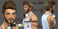 My Sims 4 Blog: Fenril88 Hair for Males