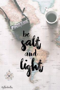 salt and light - Google Search