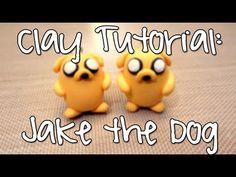 Jake (Adventure Time) Clay Tutorial