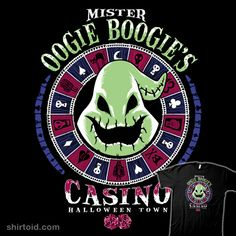 """Oogie's Casino"" by Nemons Hard Rock casino design inspired by The Nightmare Before Christmas featuring Mister Oogie Boogie"