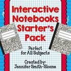 Are you looking to start using Interactive Notebooks in your classroom? This resource is the perfect place to start!  This bundle includes:  - Info...
