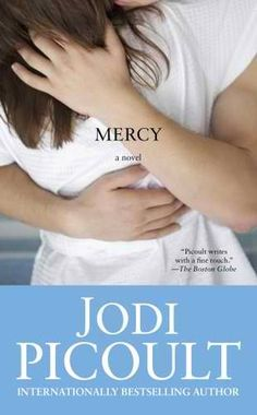 Mercy by Jodi Picoult. A favorite of Alex's. This book explores many issues involving death-- including murder and euthanasia-- all wrapped around an intense and beautiful story. We have copies at both libraries!