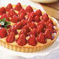 Strawberry-Lemon Curd Tart