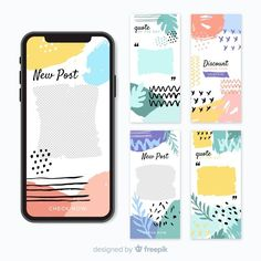 Discover thousands of copyright-free vectors. Graphic resources for personal and commercial use. Thousands of new files uploaded daily. Instagram Design, Free Instagram, Social Media Template, Social Media Design, Packaging Design, Branding Design, Logo Design, Web Design, Instagram Story Template