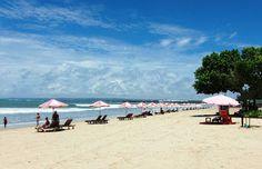 Balinese Travel: Kuta Beach - The Main Purpose of Tourists Visiting The Island of Bali Kuta Beach Bali, Jimbaran, Tourist Spots, Balinese, Ubud, Beautiful Beaches, Dolores Park, Ocean, Tours