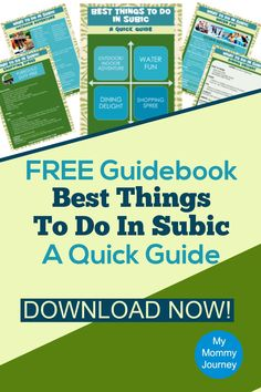 Don't know what to do in Subic? Get this free guidebook on the best things to do in Subic! Learn more about it when you read about the best house to stay in Subic: Forest View!