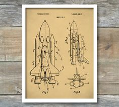 Popular items for space shuttle on Etsy