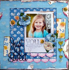 Jan Agnew - Girly Layout and Tag