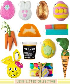 LUSH Easter 2015 Collection