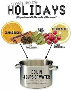 Holiday home air freshener, via holistic squid