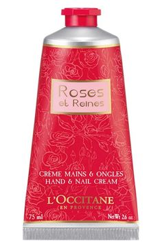 L'Occitane 'Roses et Reines' Hand  Nail Cream available at #Nordstrom