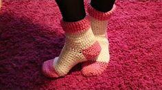 medias tejidas a crochet - YouTube