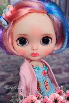 OOAK Vlastní Blythe Doll PONY