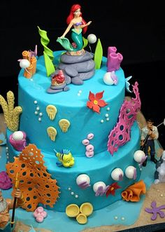 Under The Sea Ariel Cake by creative and delicious sweets (Sandy), via Flickr