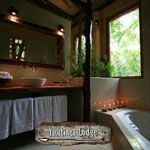 bathroom. Lodge « Yacutinga Lodge, Misiones forest, Argentina – A jungle lodge immersed in subtropical rainforest near the Iguazú Falls, combining adventure, conservation and insight