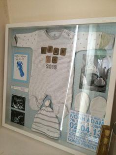 Ideas baby boy decorations shadow box for 2019 Shadow Box Baby, Newborn Shadow Box, Kitchen Pegboard, Ikea Pegboard, Painted Pegboard, Pegboard Garage, Pegboard Display, Pegboard Organization, Organization Ideas