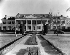 1935 exterior view of the Culver Studios, then under the control of producer David O. Selznick. Courtesy of the Photo Collection, Los Angeles Public Library.