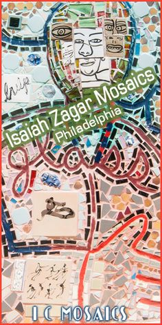 One of the most renowned mosaic artists of the America's is Isaiah Zagar. Take a tour through his mosaic world.