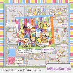 Personal Use :: Bundled Deals :: Bunny Business MEGA Bundle (May 2015)