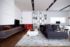 Trendy Interior by Tolicci Design Studio tolicci design studio living room
