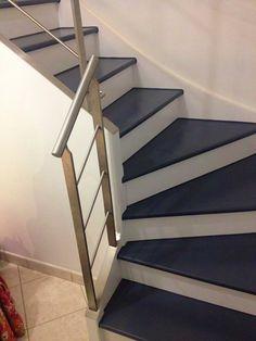 intérieur Moderniser Un Escalier  07350321    Images A E D Ce Zoom Escalier Un Moderniser Comment Relooker En Bois Chene Carrelage Moderniser Un Escalier