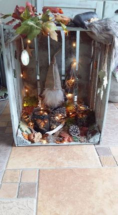 Winter fairytale kisten Fairytale, Table Decorations, Furniture, Home Decor, Crates, Fairy Tail, Fairytail, Decoration Home, Room Decor