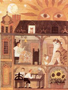 A Visit to William Blake's Inn - illustrated Alice & Martin Provensen