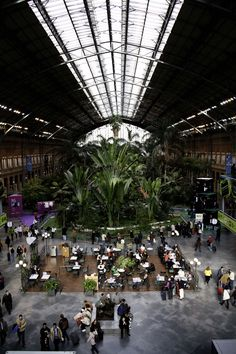Atocha Station, Madrid.