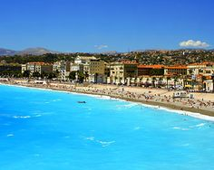 French Riviera beaches...Nice, France.  Did some training runs for my 07' marathon along this beach! Most beautiful runs of my life :)