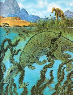 Love in the Time of Chasmosaurs: Vintage Dinosaur Art: Album of Dinosaurs - Part 2