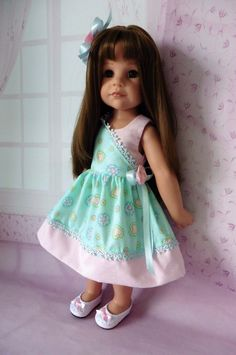 PIXIES HAND MADE : DRESS : COMPATIBLE WITH GOTZ HANNAH: OR SIMILAR 18 INS DOLL | eBay