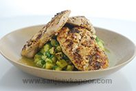 Cuban Spiced Chicken with Pineapple Salsa
