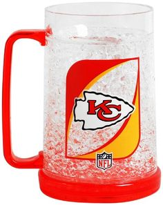 NFL Kansas City Chiefs Monster Freezer Mug  38 Ounce -- You can find out more details at the link of the image.