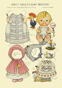 paper dolls grace drayton - Cerca con Google