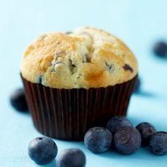 I muffin dolci con farina di quinoa e mirtilli (gluten free e senza burro)