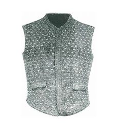 May is National Bike Month - 5 Awesome #Crochet Items for Bicyclists - vintage crochet bicycle vest