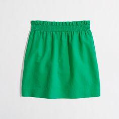 J.Crew Factory linen-cotton mini ($59.50)