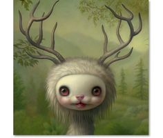 Yoshi - The Forest Spirit by Mark Ryden