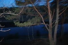 Волга вид вечером сверху с берега Старицкие ворота - Молоково Федурново Воробьево