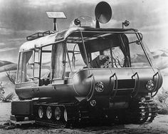 The Chariot was a fully operational vehicle, used in the 1960s TV show Lost in Space.
