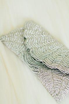 Silver Clutch #wedding #bride