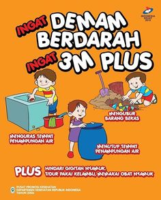 #demam berdarah #anak #bayi Health And Safety Poster, Safety Posters, Trending Topic, Coffee Poster, Book Projects, Concert Posters, Cartoon Kids, Health Education, Kid Friendly Meals