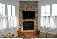 corner gas fireplace - Google Search More