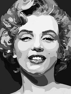 60 Super Ideas pop art comic illustration marilyn monroe - 60 Super Ideas pop a. Marilyn Monroe Pop Art, Marilyn Monroe Painting, Pop Art Portraits, Portrait Art, Pop Art Drawing, Art Drawings, 3d Art, Fantasy Art Men, Vector Portrait