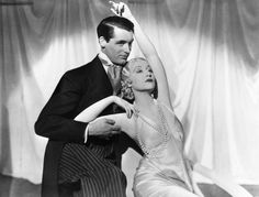 """Cary Grant and Genevieve Tobin in """"Kiss and Make-Up"""", 1934 why haven't I seen this yet?"""