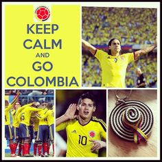 Lets go Colombia ❤ ⚽#colombia #proud #barranquilla