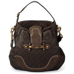 Gucci Dark Brown Pelham Bag (76.240 RUB) ❤ liked on Polyvore featuring bags, handbags, shoulder bags, purses, bolsas, hand bags, shoulder handbags, brown envelope clutch, brown leather shoulder bag and purse shoulder bag