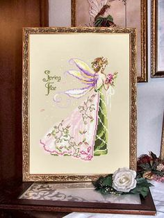 Spring Little Fae, The - Cross Stitch Pattern